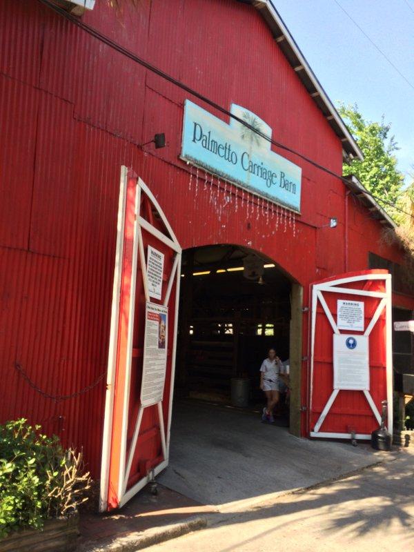 Palmetto Carriage Big Red Barn