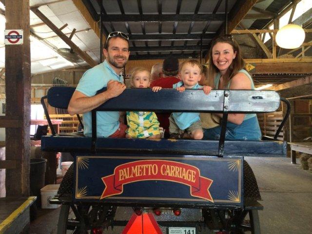 Charleston Horse Carriage Ride