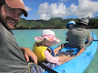 Kayaking Rarotonga, Cook Islands