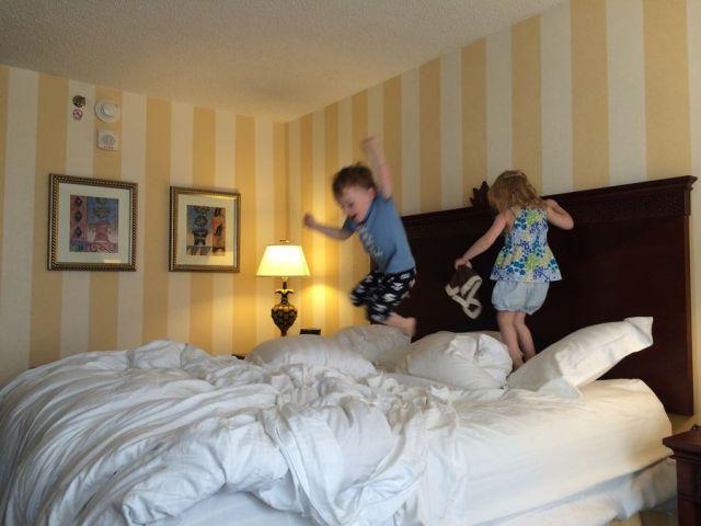 Pre-Brittlebank Bed Jumping