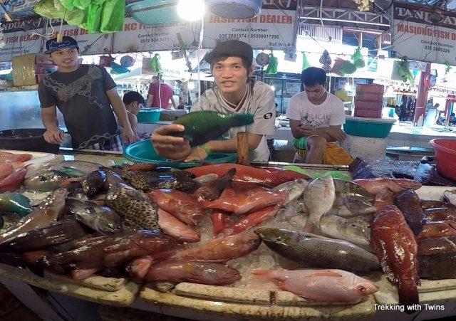 Cheap Food on Boracay   Talipapa Fish Market