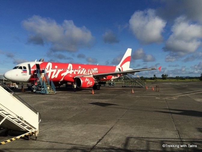On the ground in Kalibo.