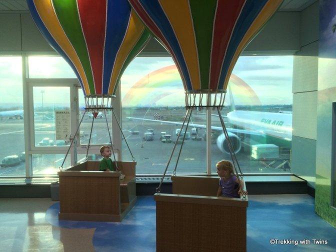 Hot Air Balloons in Taipei Airport