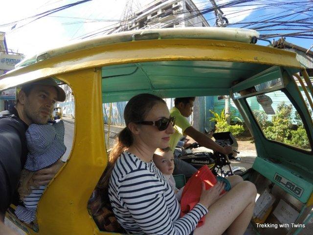 Riding a Motor Trike | Boracay Family Travel Guide