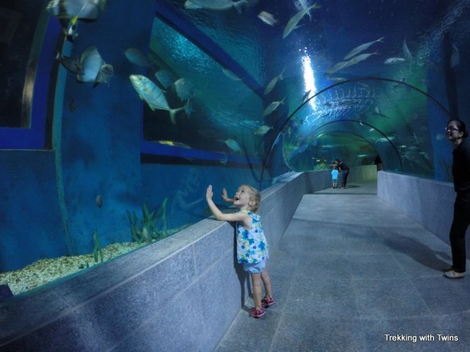 Boracay Oceanarium | Trekking with Twins