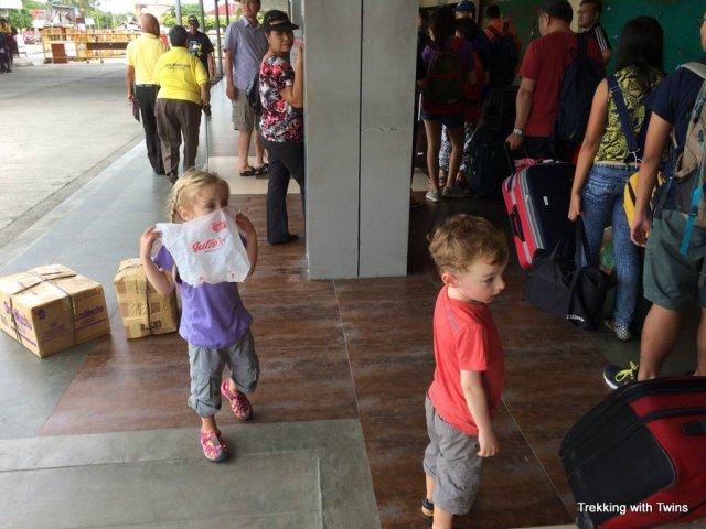 Boracay to Kalibo Airport   Arrival at Kalibo
