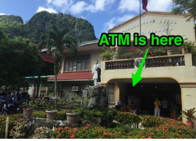 ATM in El Nido