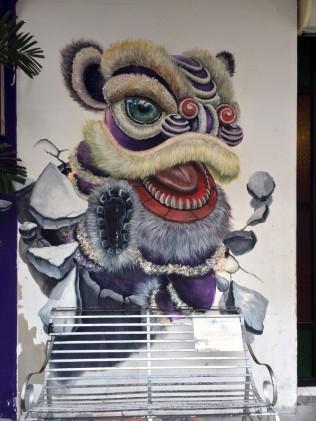 Street art in Georgetown, Penang, Malaysia
