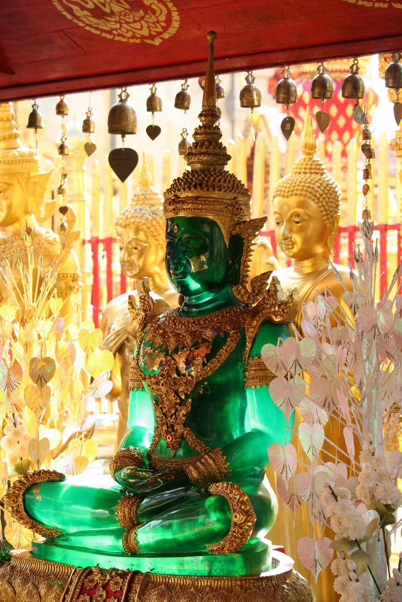 Wat Doi Suthep on our day trip from Chiang Mai