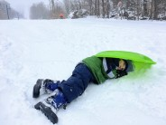 Smugglers' Notch Family Vacation - sledding