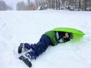 Smugglers' Notch Family Vacation - sledding