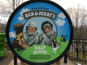 Smugglers' Notch Family Vacation - Ben and Jerry's